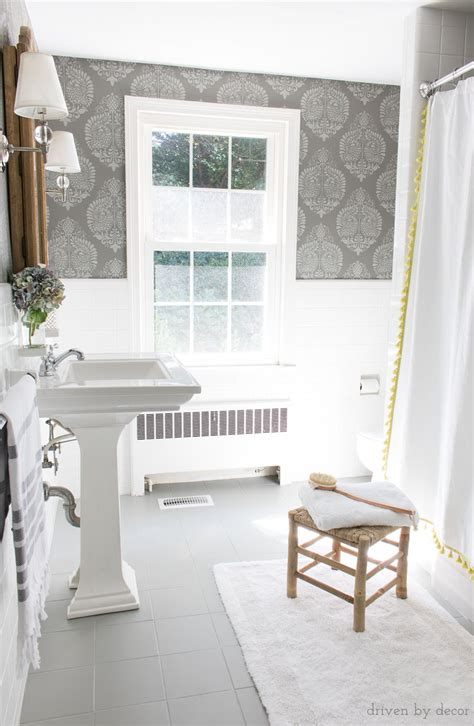 Painting Bathroom Tiles White by How I Painted Our Bathroom S Ceramic Tile Floors A Simple