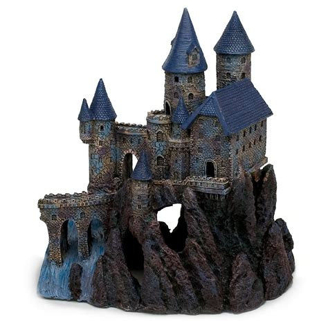 harry potter aquarium decor aquarium decorations petco penn plax south castle