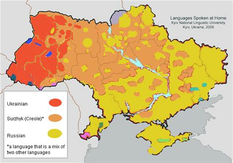 russia linguistic map ukrainian municipalities by spoken language