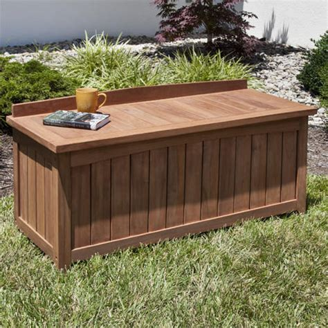 best outdoor storage bench for garden optimizing home