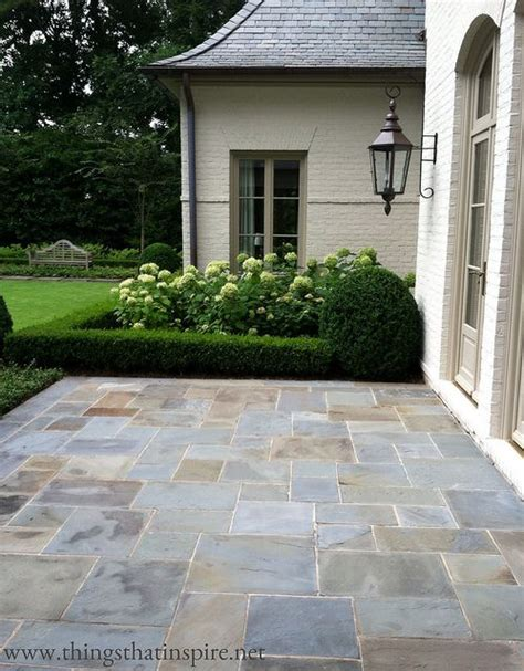 easy diy patio ideas hydrangeas flooring and slate