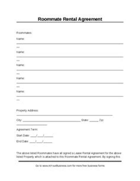 Basic Room Rental Agreement Uk A Blank Personal Financial Statement Form Is Used To Keep