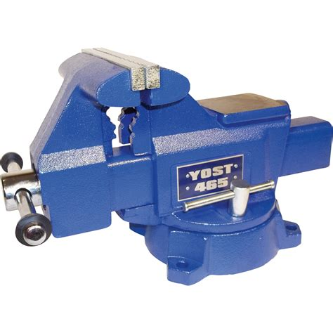 yost bench vise yost utility bench vise 6 1 2in jaw width apprentice