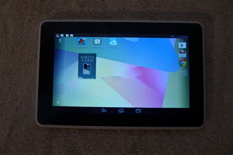 Review: HP Mesquite Android Tablet   The Digital Reader