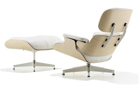 Herman Miller Eames Lounge Chair And Ottoman by Herman Miller Eames 174 Lounge Chair And Ottoman White Ash