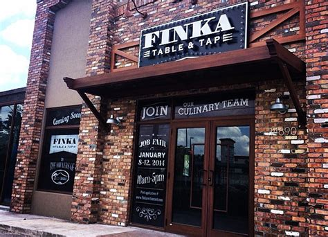 finka table and tap brand design for finka table and tap graphic solutions
