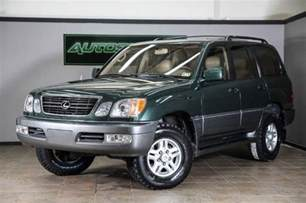 Lexus Lx470 Tires Purchase Used 2000 Lexus Lx470 New Tires Cleanest One On