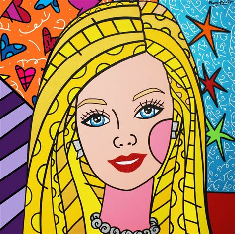 romero britto stephens in the room romero britto inspired