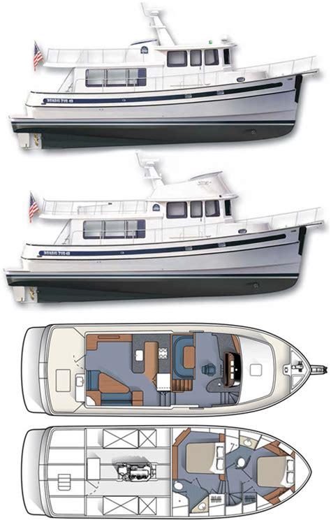 nordic boat plans nordic tug 49 nordic tugs
