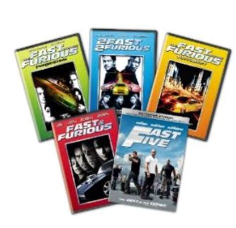 fast and furious dvd set fast and furious dvd blu ray box set 171 neo gifts