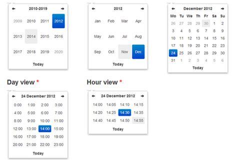 calendar layout bootstrap bootstrap datetimepicker events phpsourcecode net