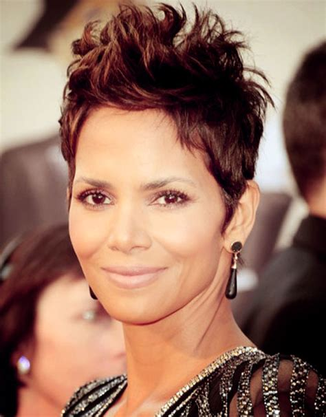 back view of halle berry hair halle berry haircuts front and back
