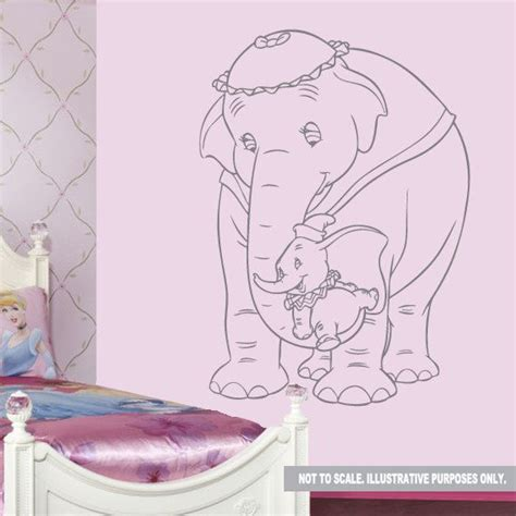 dumbo wall stickers 17 best images about dumbo nursery ideas on