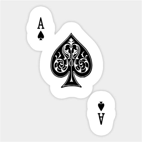 Of Spades Stickers