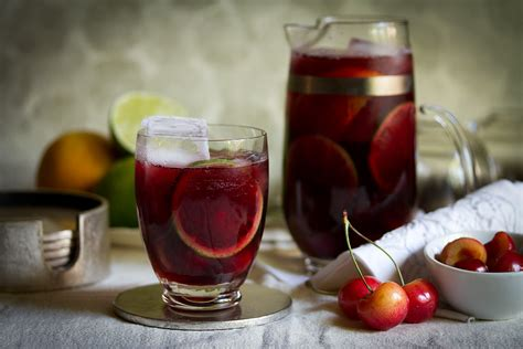 ruby sangria recipe dishmaps