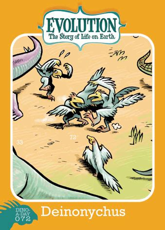 descargar story of life evolution welcome to the museum libro de texto big time attic dino a day 72 deinonychus