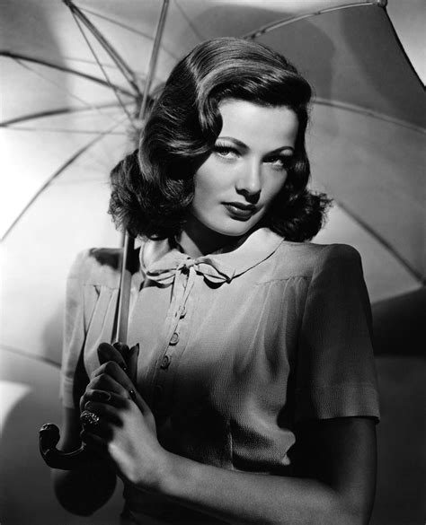 gene tierney muses cinematic women the red list
