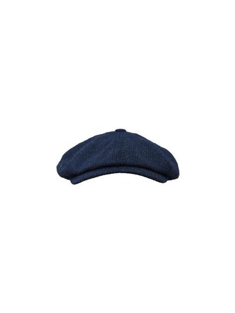 Ted Baker Baker Boy Cap ted baker newbe baker boy cap in navy northern threads