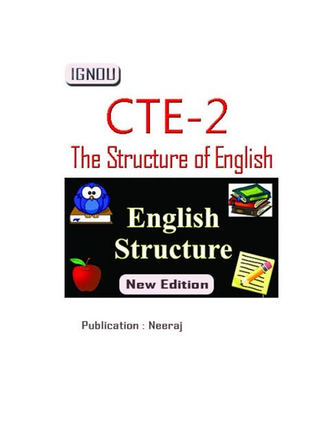 Ignou Mba Books by Cte 02 The Structure Of Ignou Book
