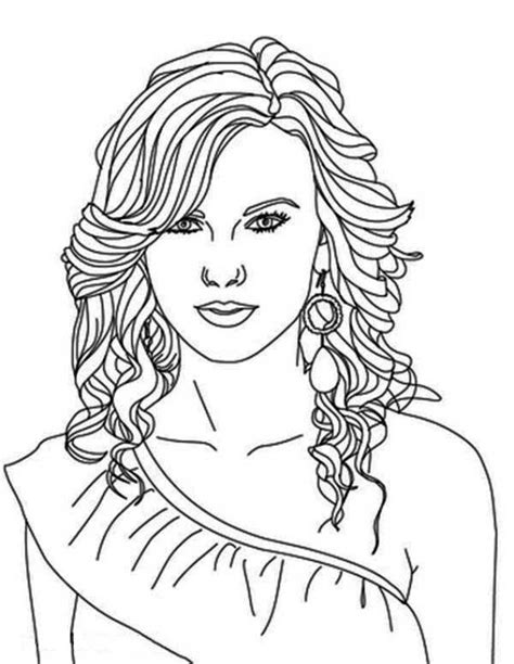 coloring page person 52 best famous people coloring pages images on pinterest