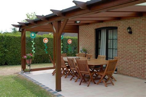 pergola en bois pour terrasse 4651 pergolas maison