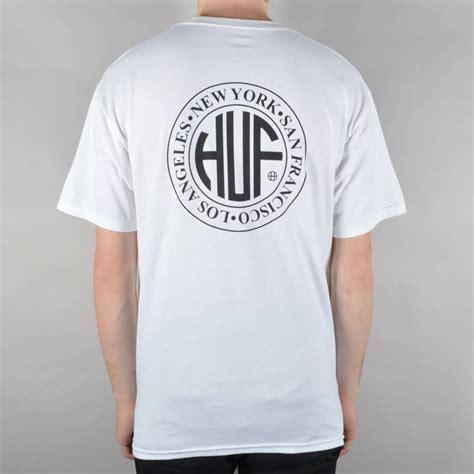Tshirt Huf White huf regional t shirt white skate clothing from