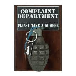 Wall Stickers Frames complaint department pineapple grenade