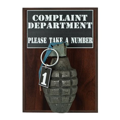 Home Bar Wall Decor by Complaint Department Pineapple Grenade