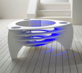 futuristic furniture modern coffee table architecture interior design