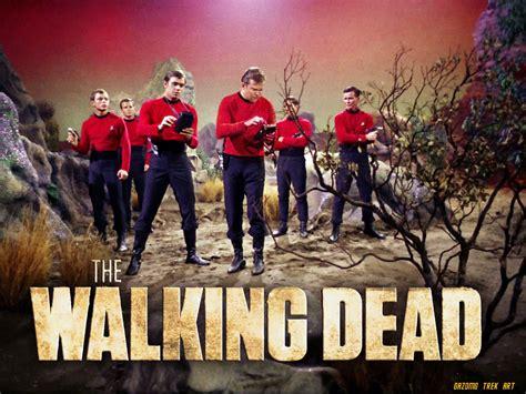 Red Shirt Star Trek Meme - star trek redshirt 6 the walking dead by gazomg on