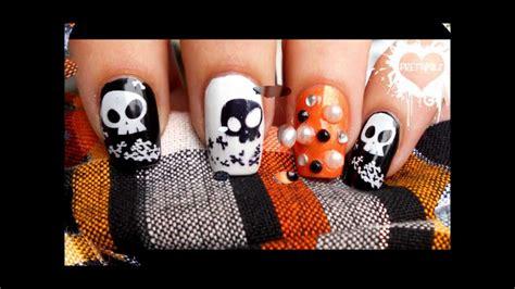 halloween nail art tutorial youtube halloween nail art tutorial youtube