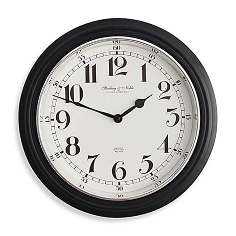 bed bath and beyond clocks buy kitchen wall clocks from bed bath beyond