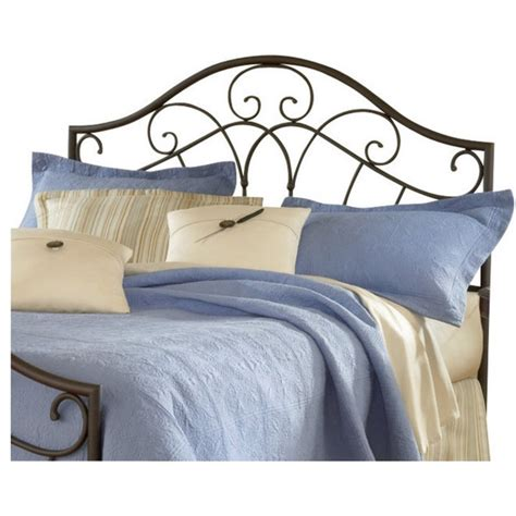spindle headboards hillsdale josephine premium spindle headboard in brown