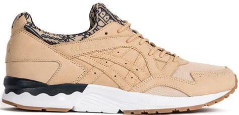 Sepatu Asics Tiger Womens Gel Lyte V Taupe Premium High Quality asics gel lyte 5 brown