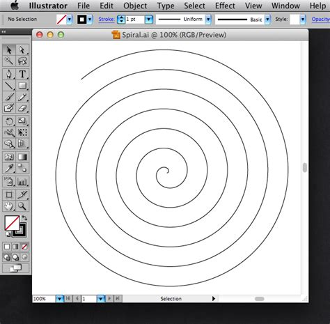 spiral pattern illustrator using algebra to create paths