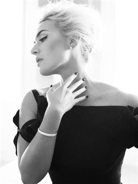 EDITORIAL: Kate Winslet by Alexi Lubomirski for Harper's
