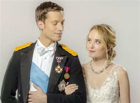 megan park new hallmark movie hallmark channel once upon a prince premiere meet the