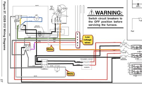 furnace blower motor wiring diagram for a e2eb 012hb e2eb