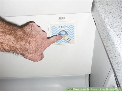 how to not be scared of the airplane toilet 8 steps