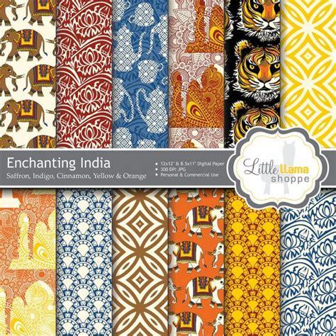 Essay On Tigers In India by Enchanting India Digital Paper Indian Scrapbook Paper Asian Elephants Tiger Taj Mahal