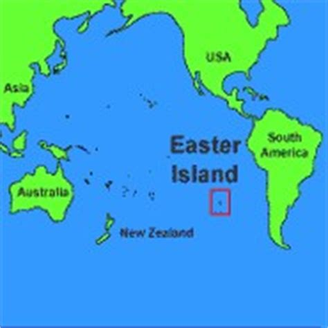 where is easter island on a world map easter island smore