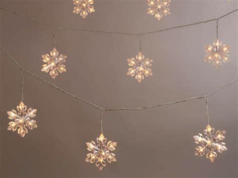 snowflake light 8 energy efficient led light strands for the holidays