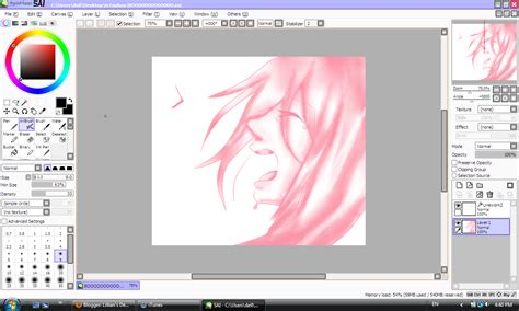 paint tool sai drawing without tablet how to use paint tool sai without a drawing tablet