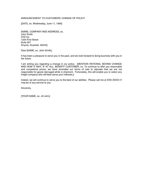 change of business ownership letter the best letter sle