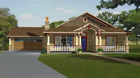 Adobe House Plans by American Bungalow Softplantuts