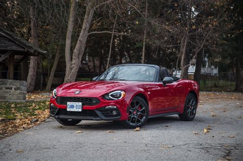 2017 fiat 124 spider abarth review 2017 fiat 124 spider abarth canadian auto review