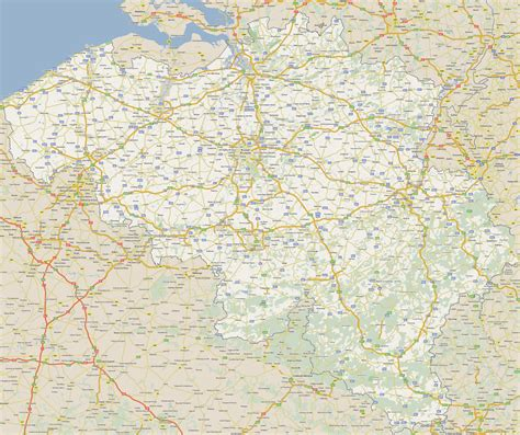 map of belgium with cities large detailed road map of belgium with all cities
