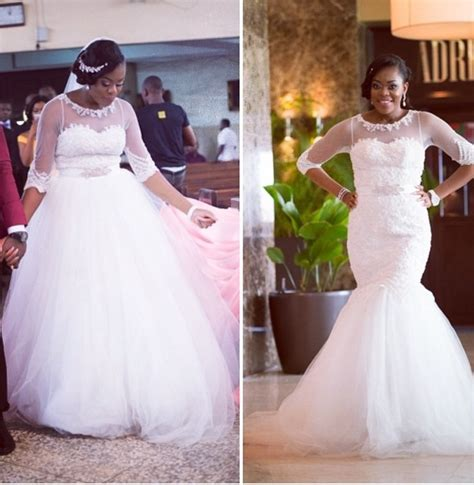 House Design Styles In South Africa Wedding Gown Alert Why We Love Chinelo S Two In One