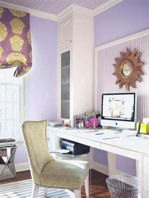 purple office decor purple office contemporary den library office muse