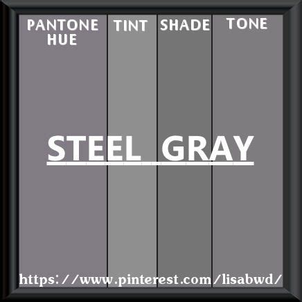 steel grey color pantone seasonal color swatch steel gray color thesaurus